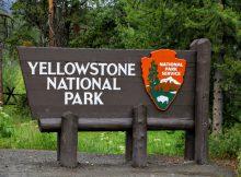 Yellowstone National Park ingang