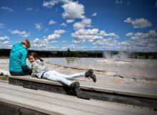 Great Fountain Geyser Yellowstone