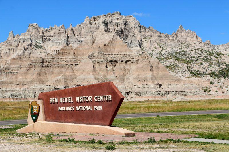 Ben Reifel Visitor Center Badlands National Park