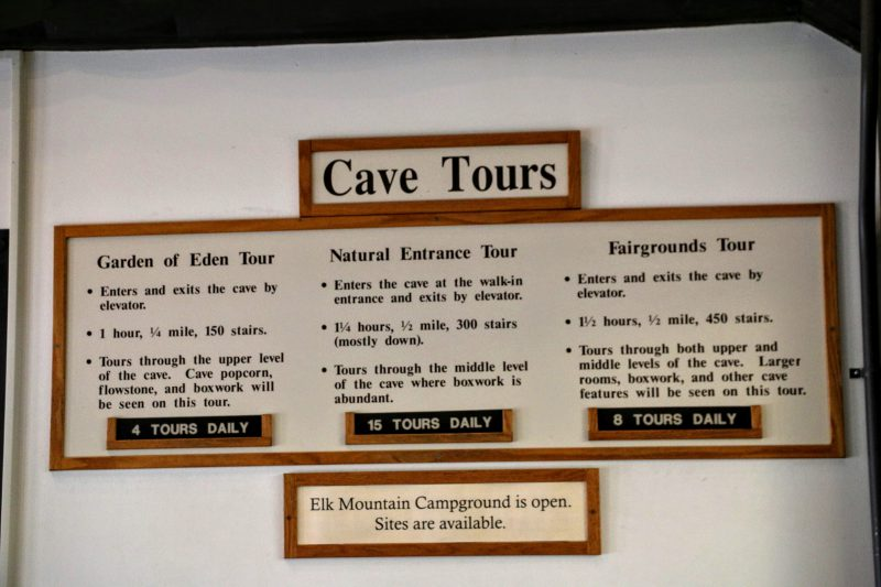 Cave Tours Wind Cave National Park