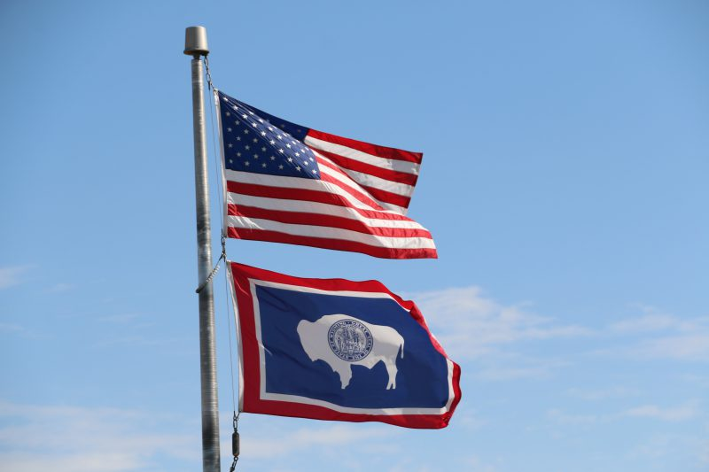 Flag Wyoming