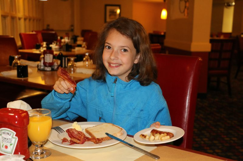 Radisson Cheyenne breakfast