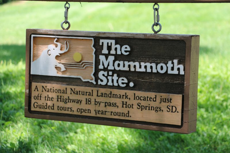 The Mammoth Site Hot Springs