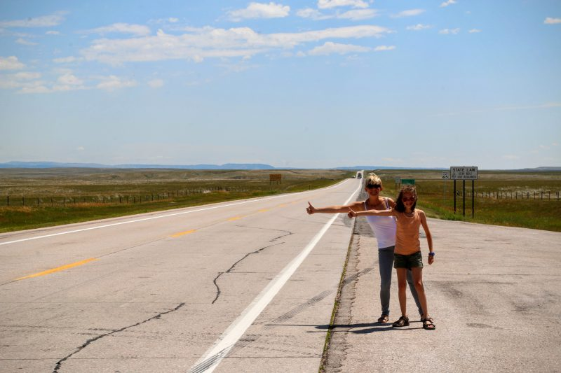 US 18 E Wyoming