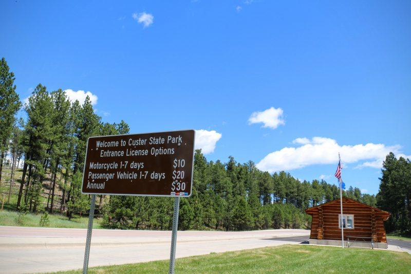 Welcome to Custer State Park fees
