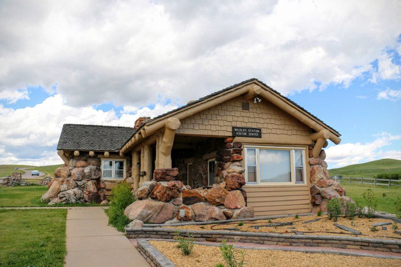 Wildlife station Visitor Center Custer State Park