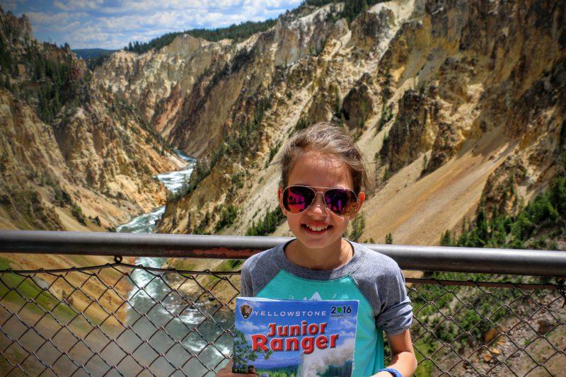 Met kinderen naar Yellowstone