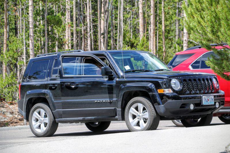 Parking Yellowstone Canyon