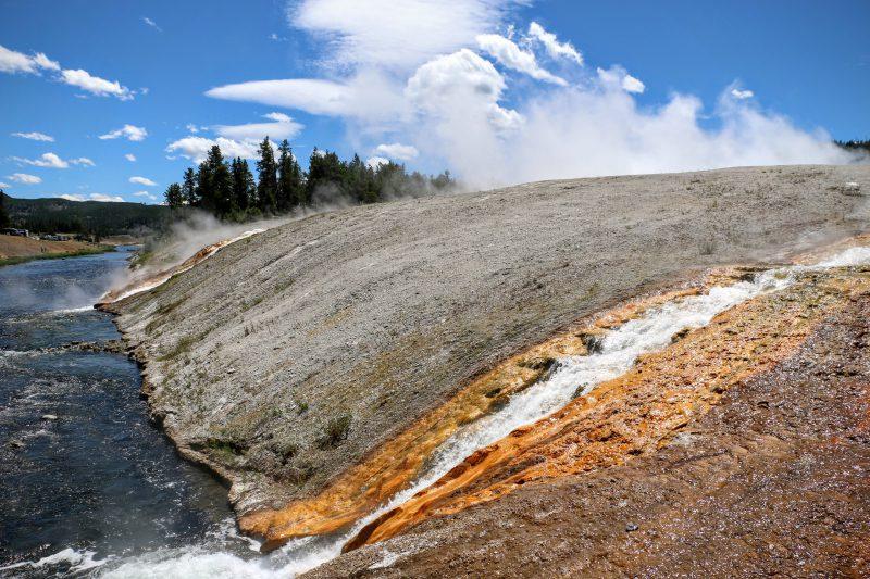 Prachtige kleuren in Yellowstone