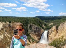 Yellowstone Upper Falls Canyon