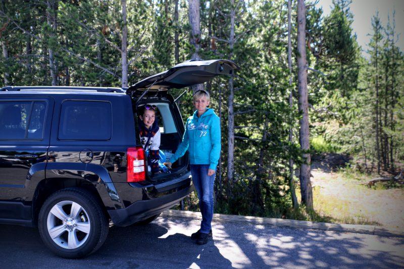 Parkeren in Yellowstone