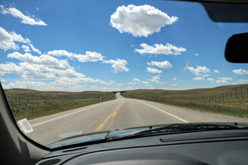 Route van Jackson Hole naar Vernal