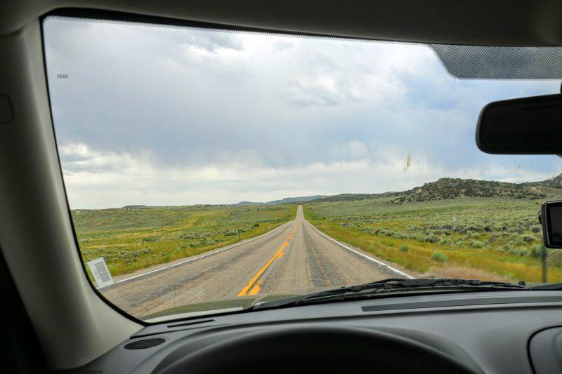 Route naar Vernal