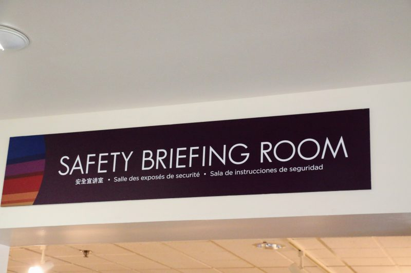 Safety Briefing Room