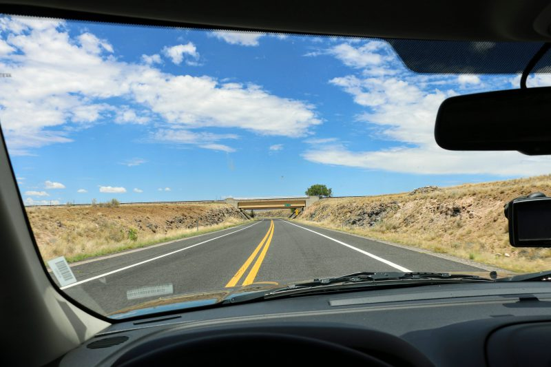 Route naar Seligman