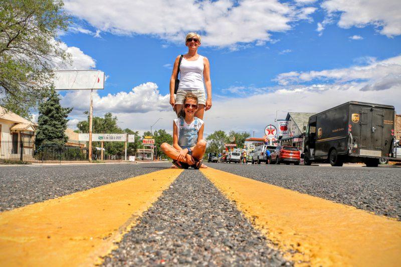 Via Route 66 naar Las Vegas