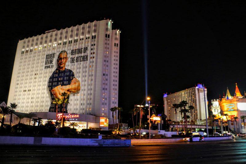 Las Vegas Tropicana by night
