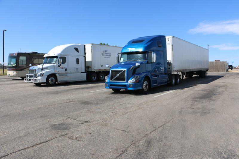 Truck stop in Amerika
