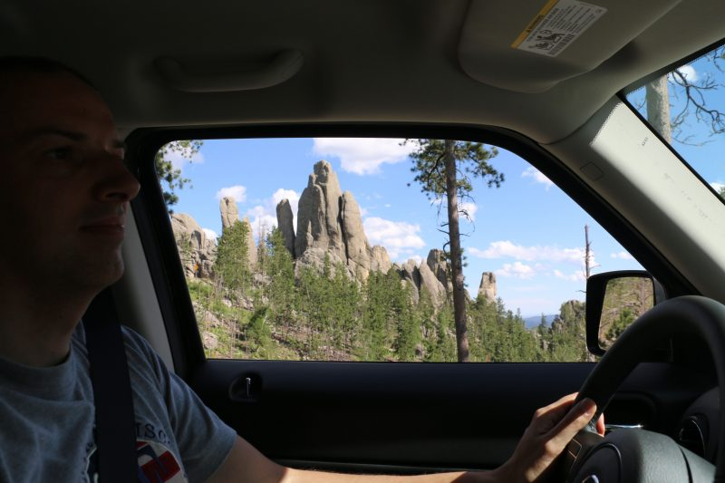 Needles Highway Scenic Overlook