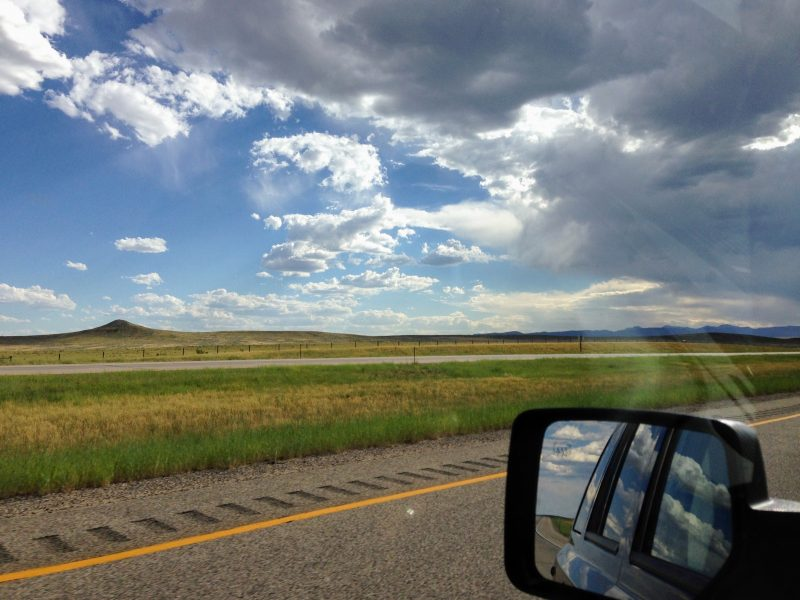 Via de I-90 naar Yellowstone