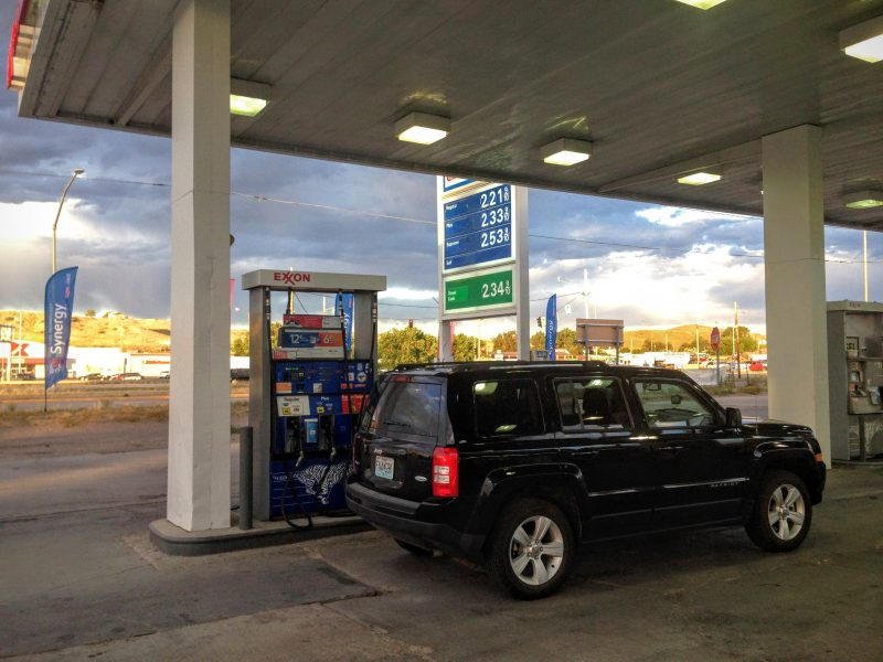 Benzinestation in Sheridan