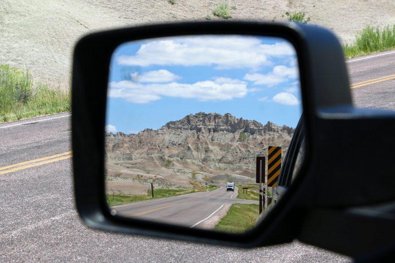 Route door Badlands