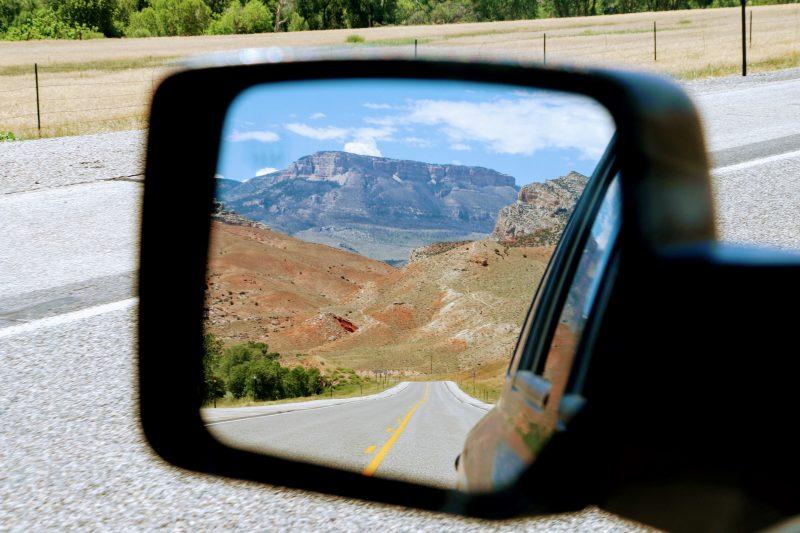 Route naar Cody via Bighorn