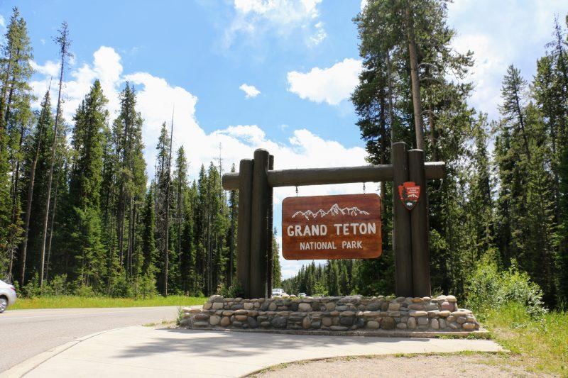 Ingang Grand Teton NP