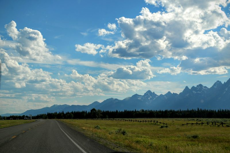 Grand Teton National Park route