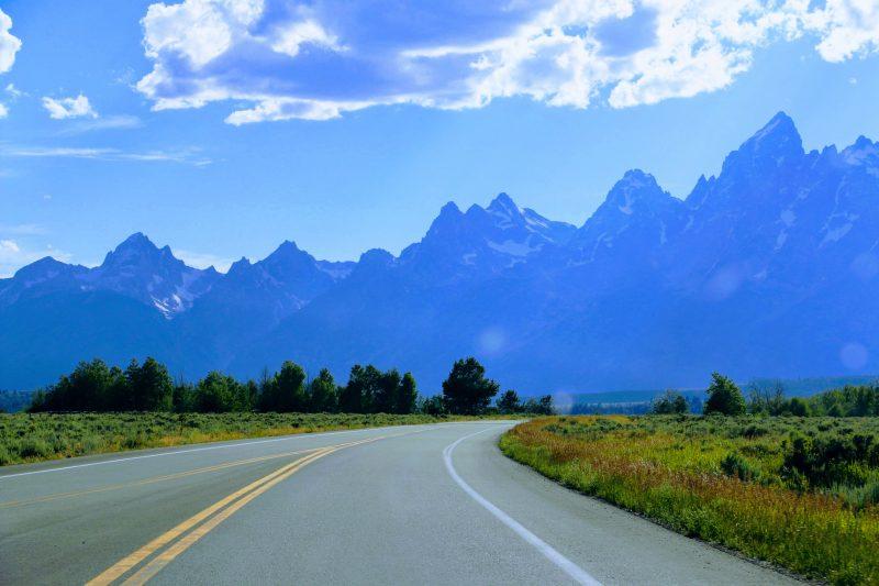 Route Grand Teton