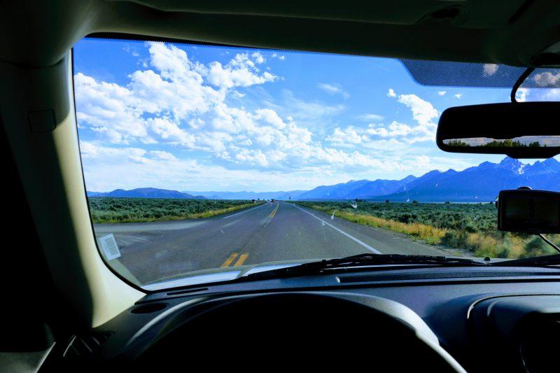 Route naar Jackson