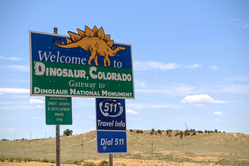 Welcome to Dinosaur Colorado