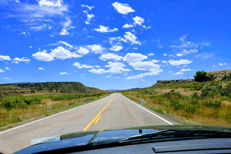 Route naar Moab